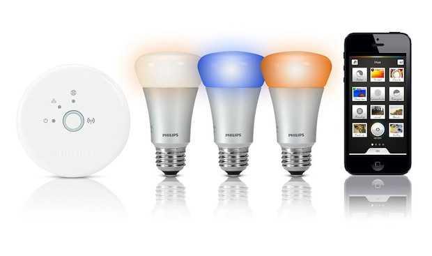 Hue di philips l 39 illuminazione su smartphone idee green - Philips illuminazione casa ...
