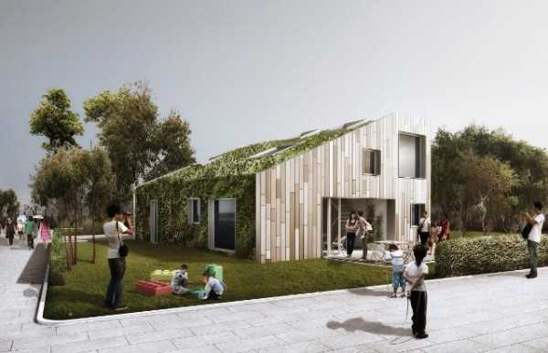 Casa container idee green - The flex house ...