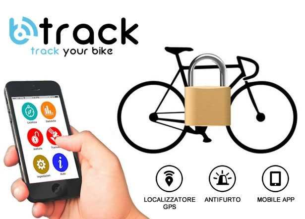 Antifurto GPS per biciclette