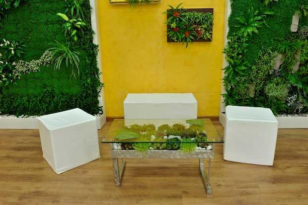 Giardino in casa idee green - Idee giardino casa ...