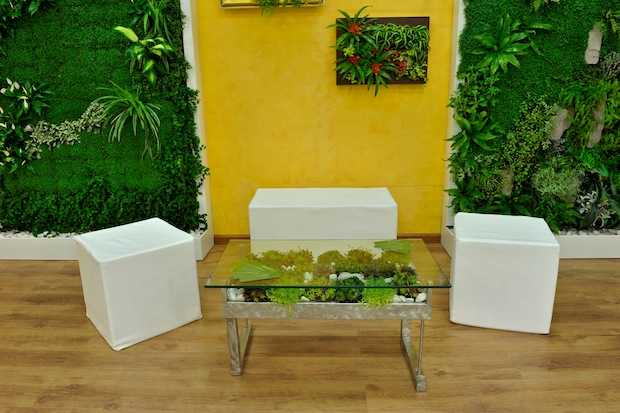 Giardino in casa idee green - Giardino verticale in casa ...