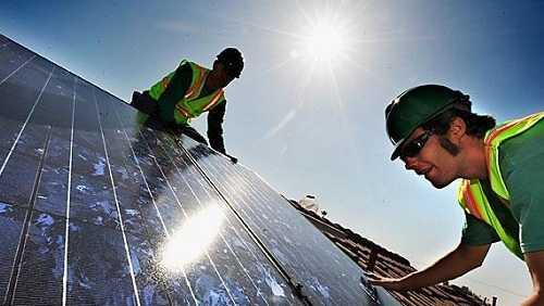 Montaggio smontaggio moduli fotovoltaici