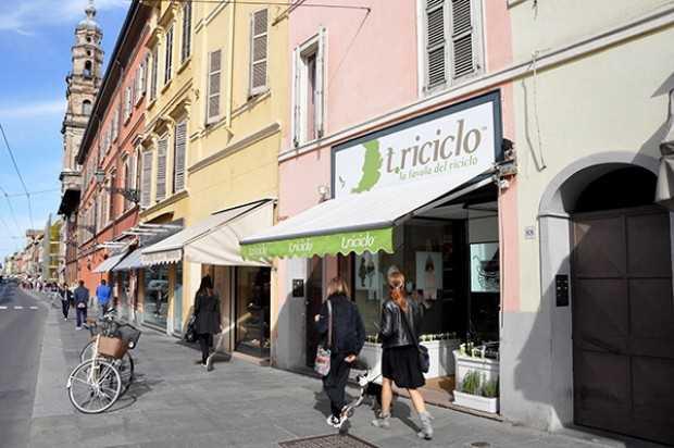 Un negozio della catena t.riciclo