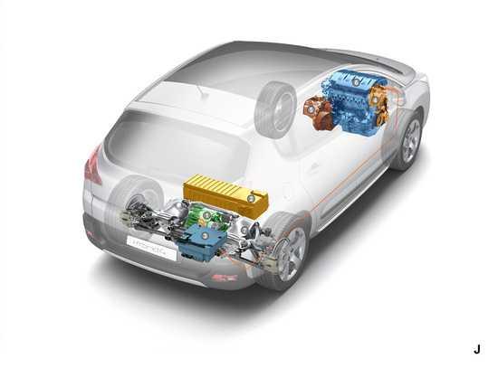 Peugeot 3008 ibrido diesel
