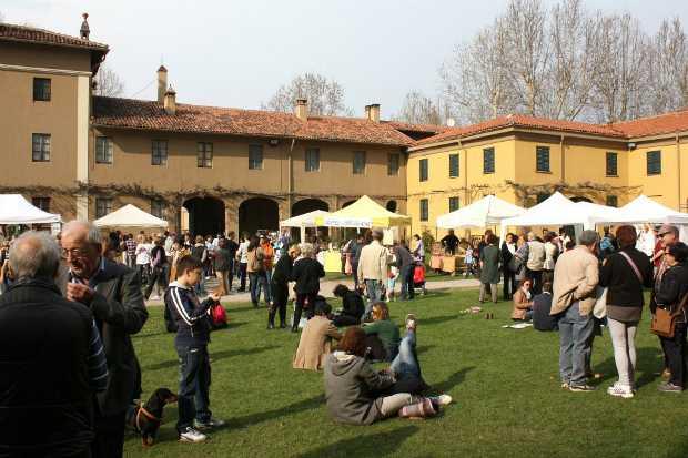 Un momento di NaturBio Festival ad Arese