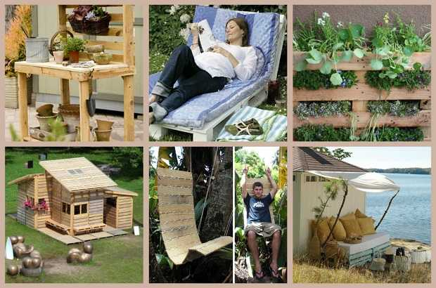 Come riciclare un pallet idee green for Riciclo arredo