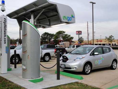 Stazione Di Rifornimento Per Auto Elettrica Idee Green