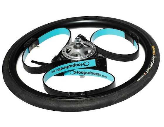 Loopeheels per bici senza raggi idee green for Idea ruote