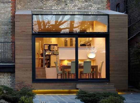 Legno di quercia bianca americana per una ristrutturazione a Londra