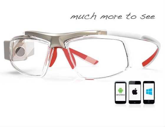 Occhiali a realtà aumentata GlassUp