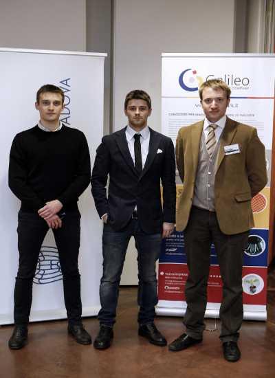 I tre soci della startup QuiCibo