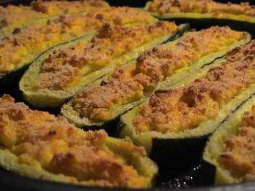 Zucchine ripiene allo zafferano
