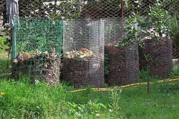 Compost domestico idee green for Contenitori da giardino