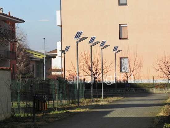 Sistemi di illuminazione a energia solare idee green