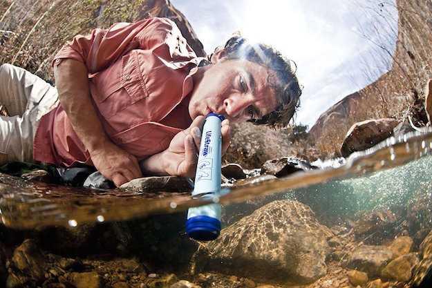 potabilizzatore acqua da viaggio