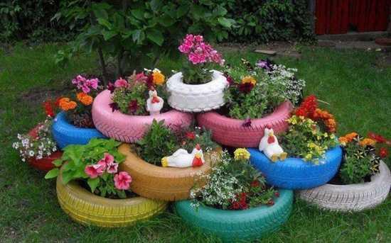 Idee Per Arredare Il Giardino : Idee di riciclo per il giardino idee green