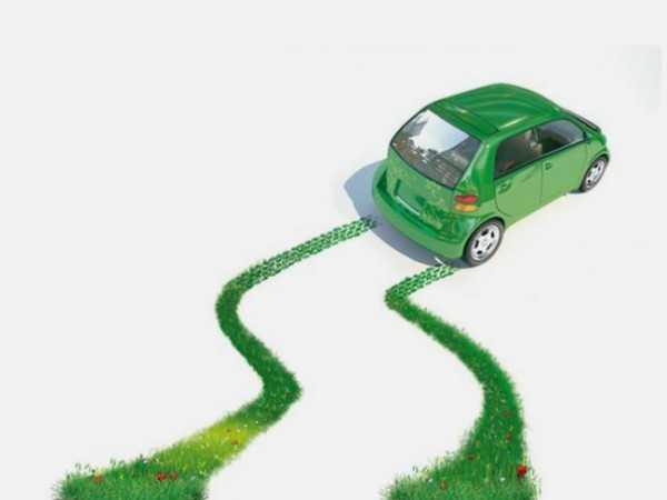 Auto elettrica green