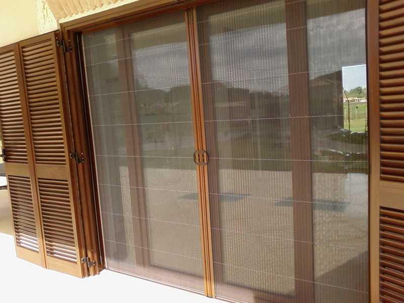 Come costruire una zanzariera idee green - Misure porta finestra ...