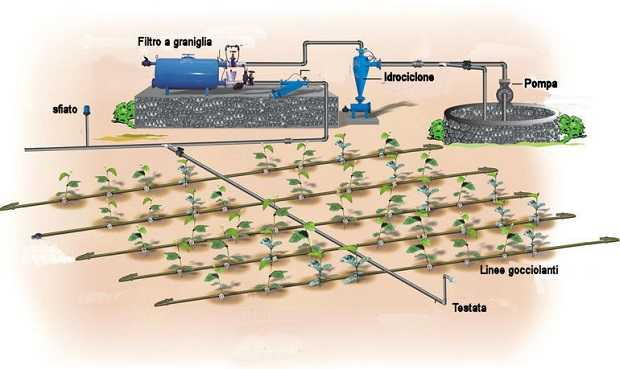 Irrigazione a goccia idee green for Impianto irrigazione automatico
