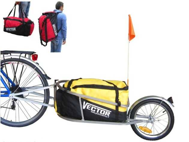 rimorchio bici