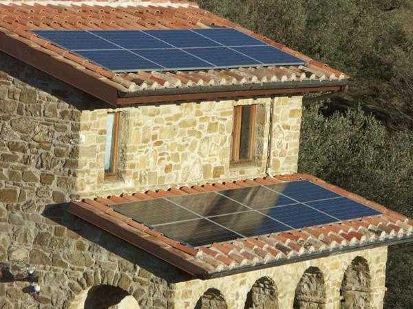 tetto solare integrato