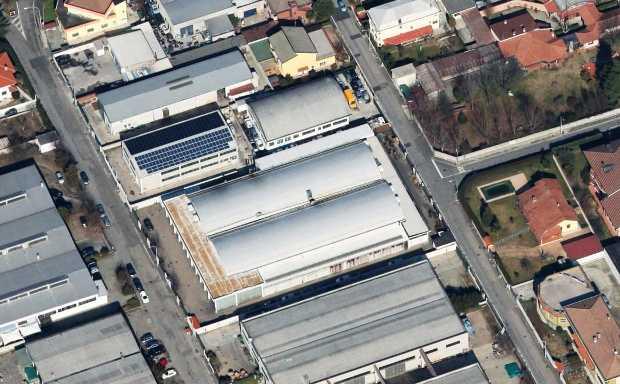 La sede di Pressvit a Zibido San Giacomo in provincia di Milano