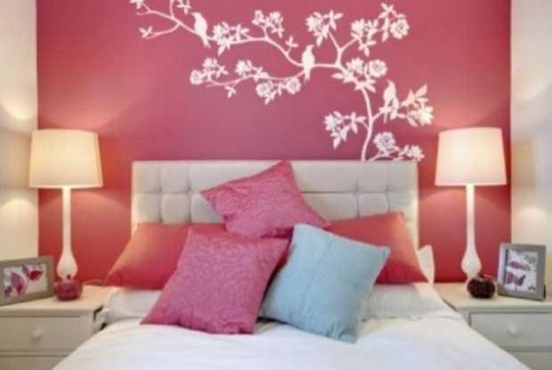 Idee per decorare casa lo stencil idee green - Idee per pitturare casa ...