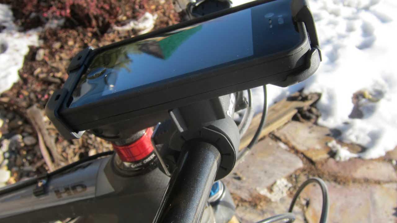 custodia iphone bici