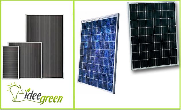 Pannelli fotovoltaici silicio amorfo scheda tecnica 24