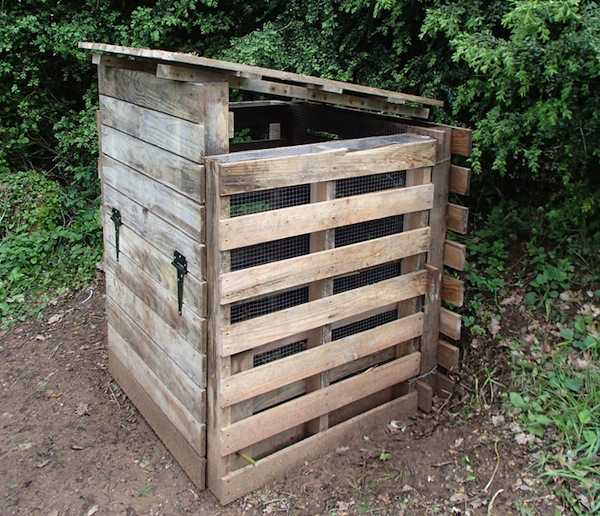 Mobili lavelli costruire un compost in legno for Compostiera ikea