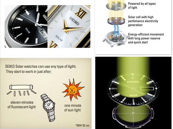 Orologi uomo a carica solare