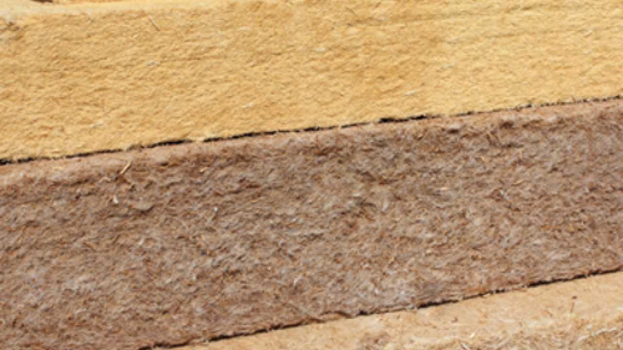Pannelli Fibra Di Legno isolare con la fibra di legno - idee green