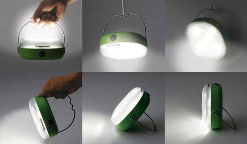 Bg bl lampada led a energia solare idee green