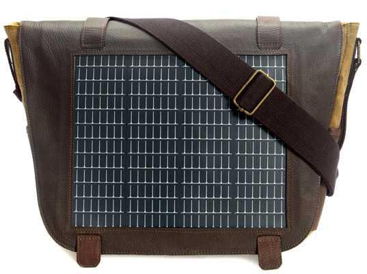 44cbd0a225 Zaini, borse e tracolle con pannelli solari - Idee Green