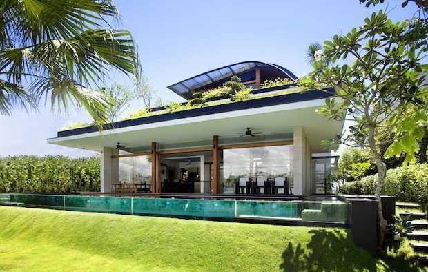 Architettura sostenibile la progettazione di una casa ecologica idee green - Progettazione esterni casa ...