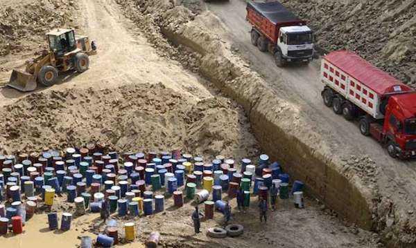 inquinamento suolo