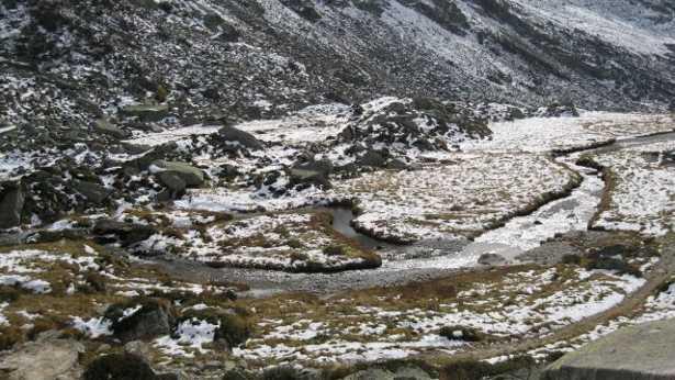 Torrente Poja in Val Salarno nel Parco dell'Adamello, habitat dello Stambecco (foto Associazione Uomo e Territorio Pro Natura)