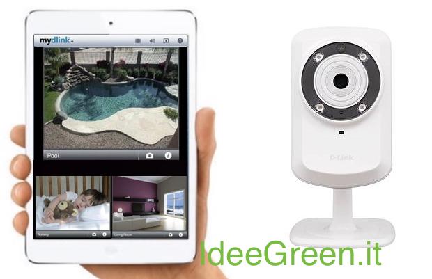 Telecamera wireless per il monitoraggio di casa - Idee Green