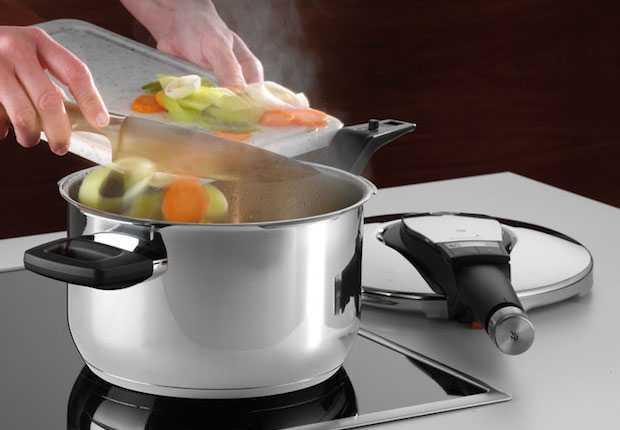 Cucinare con la pentola a pressione
