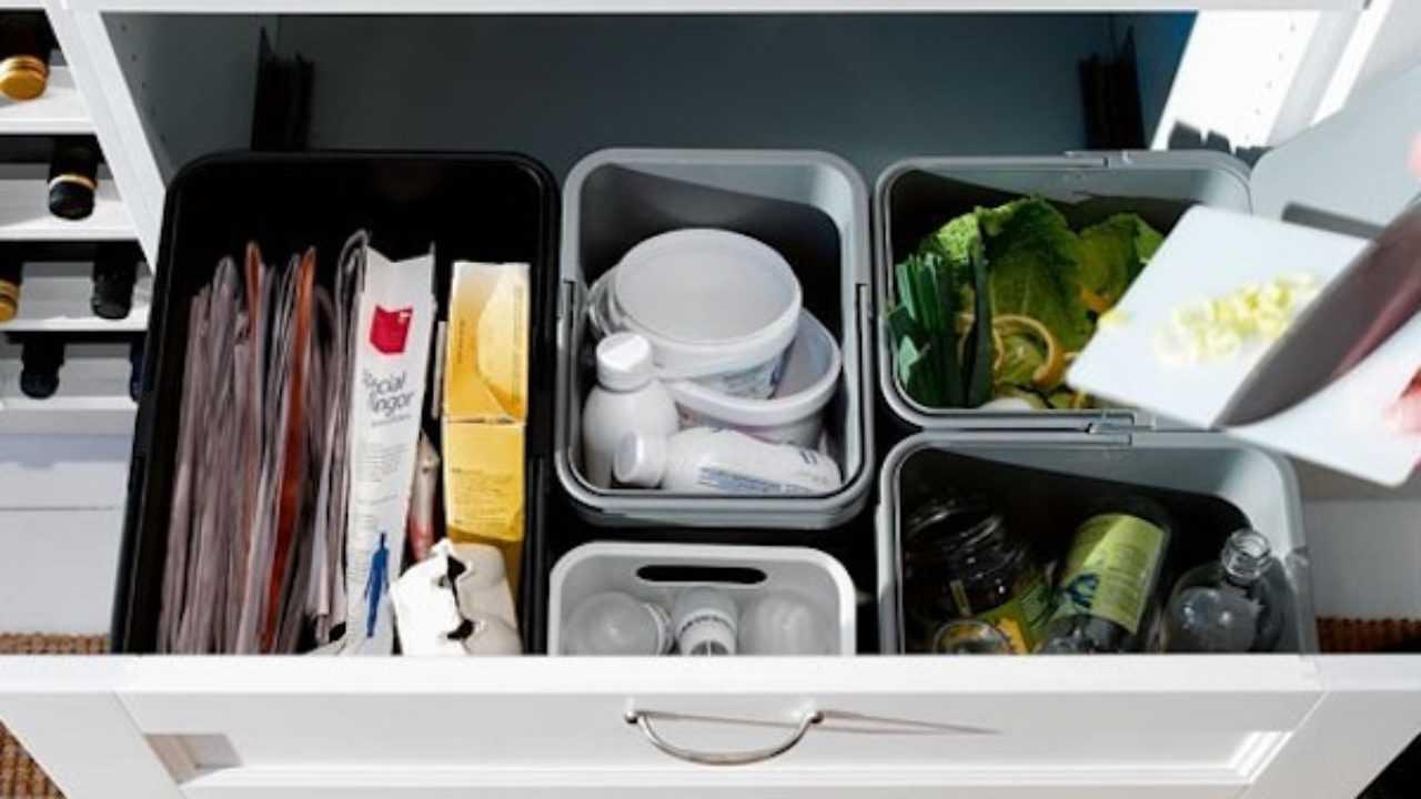 Raccolta Differenziata Bidoni Ikea contenitori per la raccolta differenziata di ikea - idee green