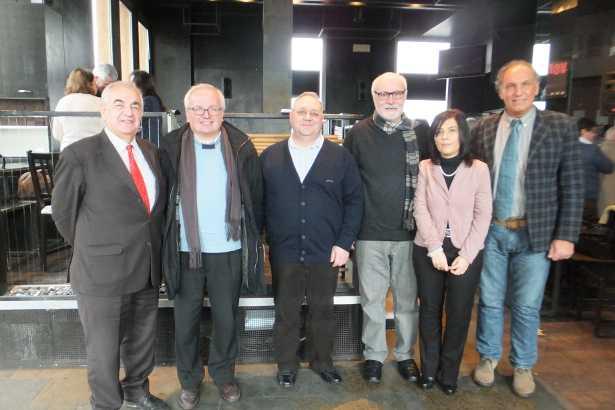 I rappresentati di Co.Mo.Do, Festival Europeo del Gusto e del Comune di Grantorto
