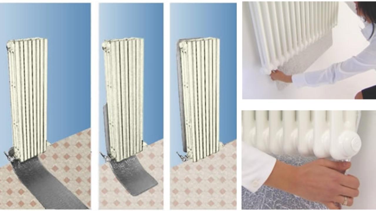 Pannelli Radianti Al Posto Dei Termosifoni come montare i pannelli termoriflettenti - idee green