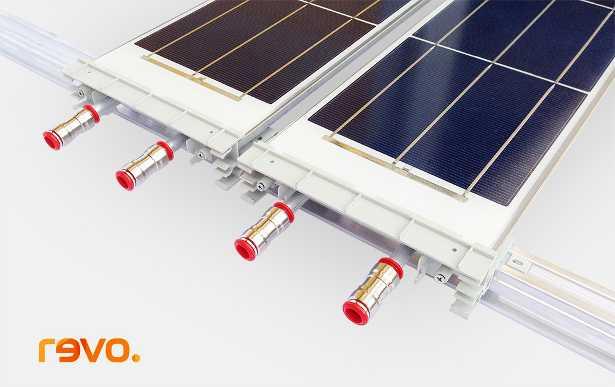 Il modulo solare ibrido nativo Revo dell'azienda Indea