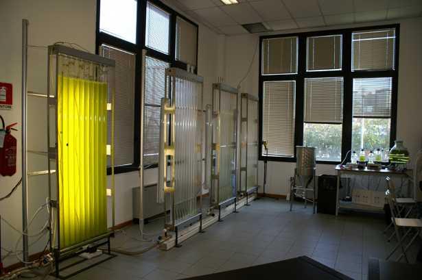 Il laboratorio Algamoil di Teregroup a Modena per la produzione di biodiesel dalle alghe