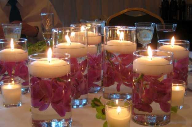 candele fatte in casa