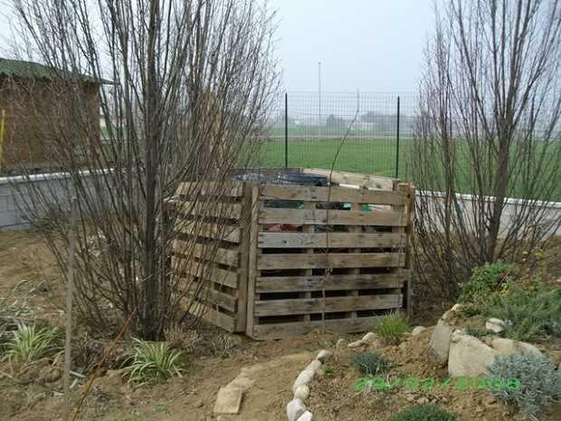 Compostiera fai da te le istruzioni idee green for Voliera fai da te