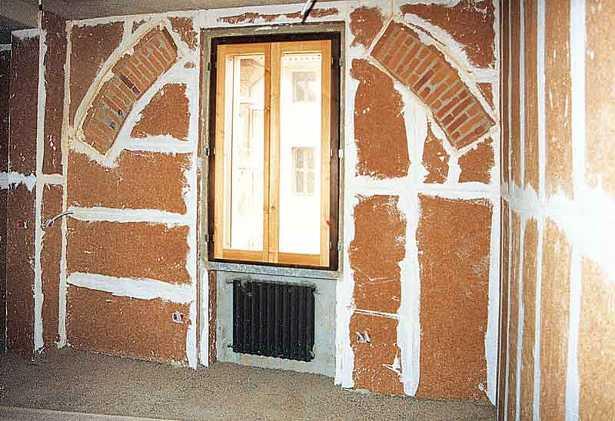 Isolamento termico interno delle pareti cose da sapere for Pannelli isolanti termici per interni