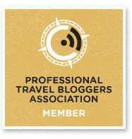 professional travel blogger association member