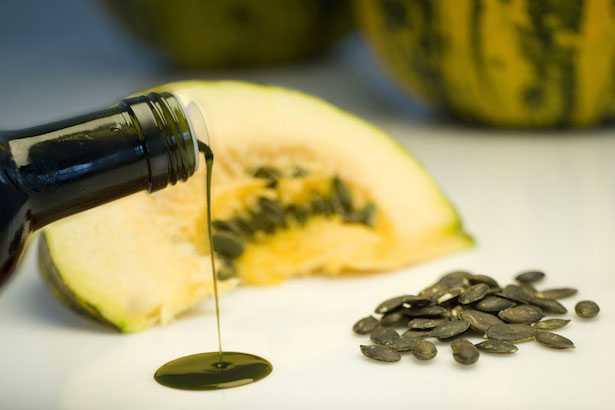 proprietà zucca olio semi