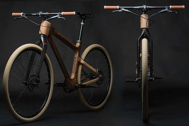bici in legno